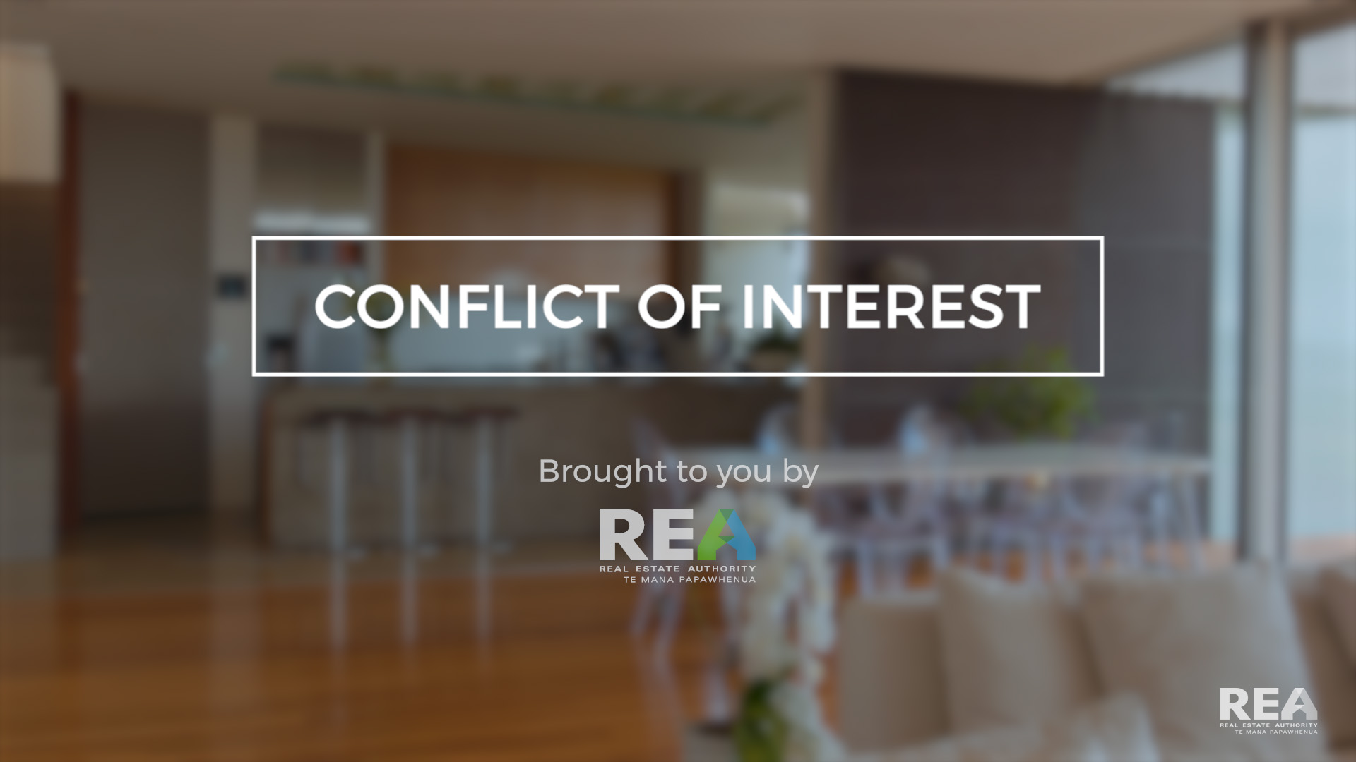 Conflict of interest | The Real Estate Authority